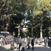 ぶらり散歩⑥ 2017年‐初詣・明治神宮