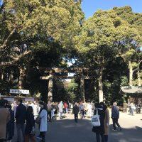ぶらり散歩⑨ 2018年‐初詣・明治神宮