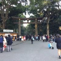 ぶらり散歩② 2016年‐初詣・明治神宮